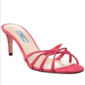 *Brand New* Prada Suede Sandals 37.5